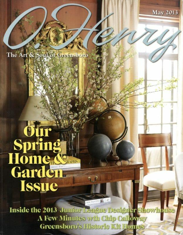 @ Ann Legette Interiors -- O'Henry Magazine 2013