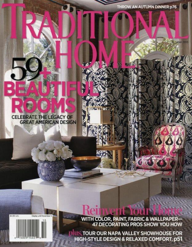 @ Ann Legette Interiors -- Traditional Home Magazine 2013