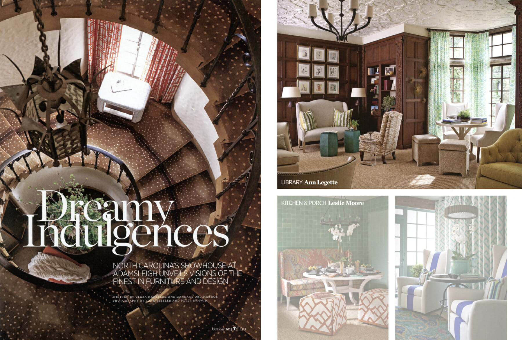 @ Ann Legette Interiors -- Traditional Home Magazine 2013